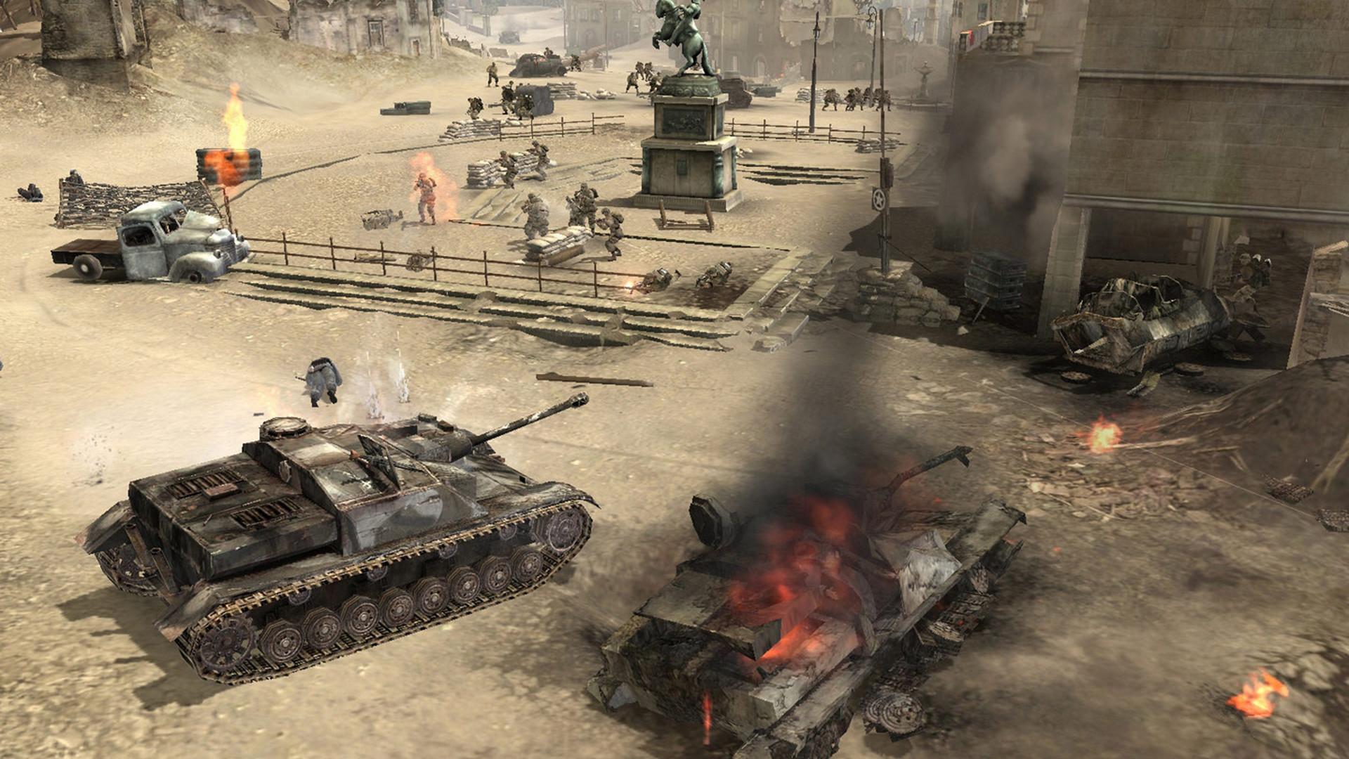 Company Of Heroes Review Pocket Tactics