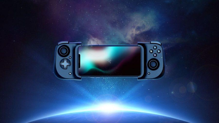 The Razer Kishi mobile controller