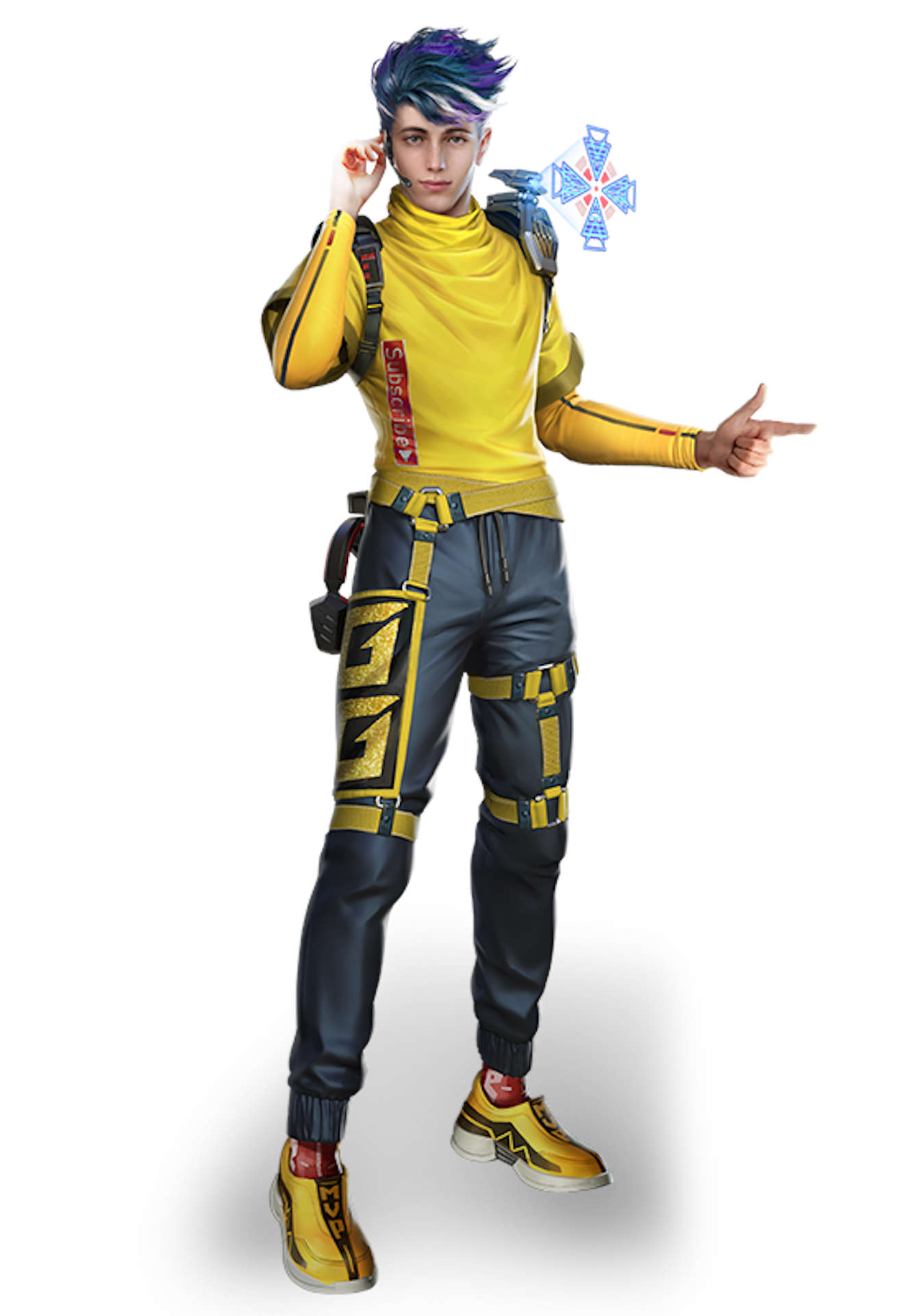 Garena Free Fire Characters K Captain Booyah Pocket Tactics