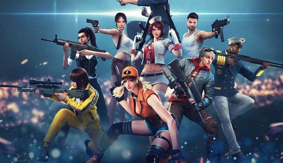Garena Free Fire characters list