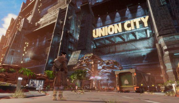 Beyond a Steel Sky's Union City