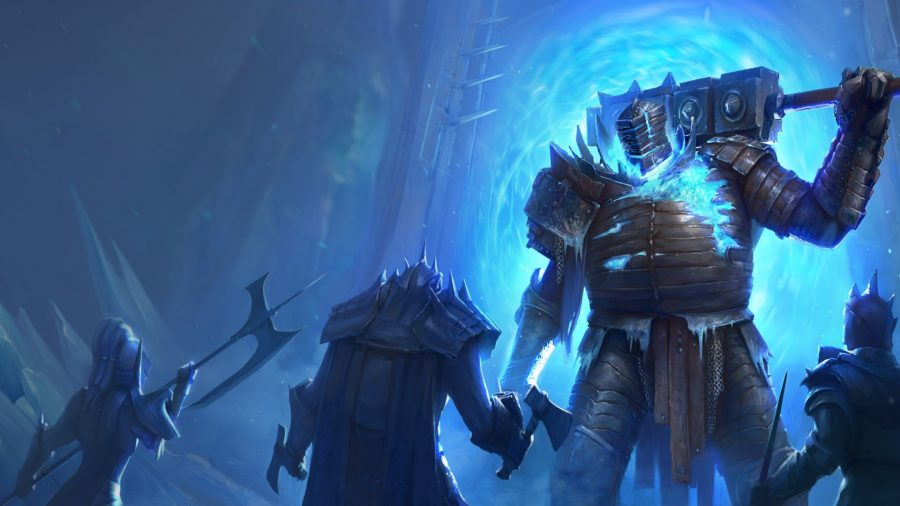 Raid: Shadow Legends guide: a giant threatens enemies with a massive mace in Raid: Shadow Legends