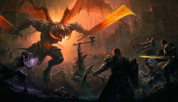Artwork from Diablo Immortal