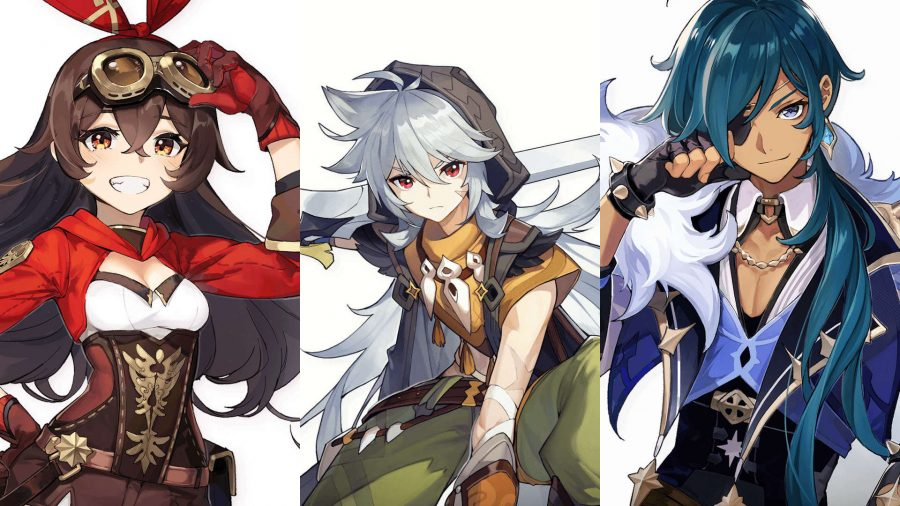 Genshin Impact Character Banners