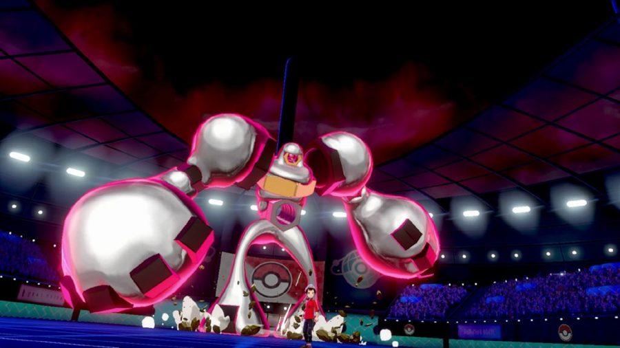 Gigantamax Melmetal in Pokémon Sword and Shield