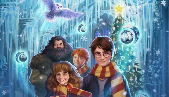 Harry Potter: Puzzles and Spells Christmas artwork