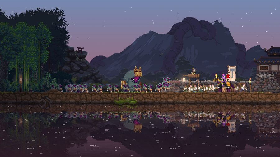 Monsters attacking in Kingdom Two Crowns