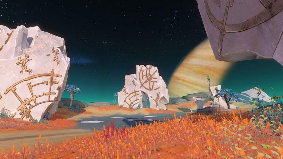 An alien planet in Astacraft