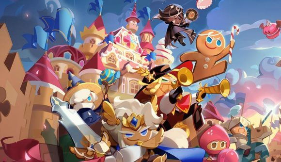 Cookie Run Kingdom characters heading into battle