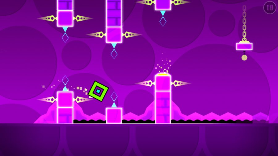 Geometry Dash purple level