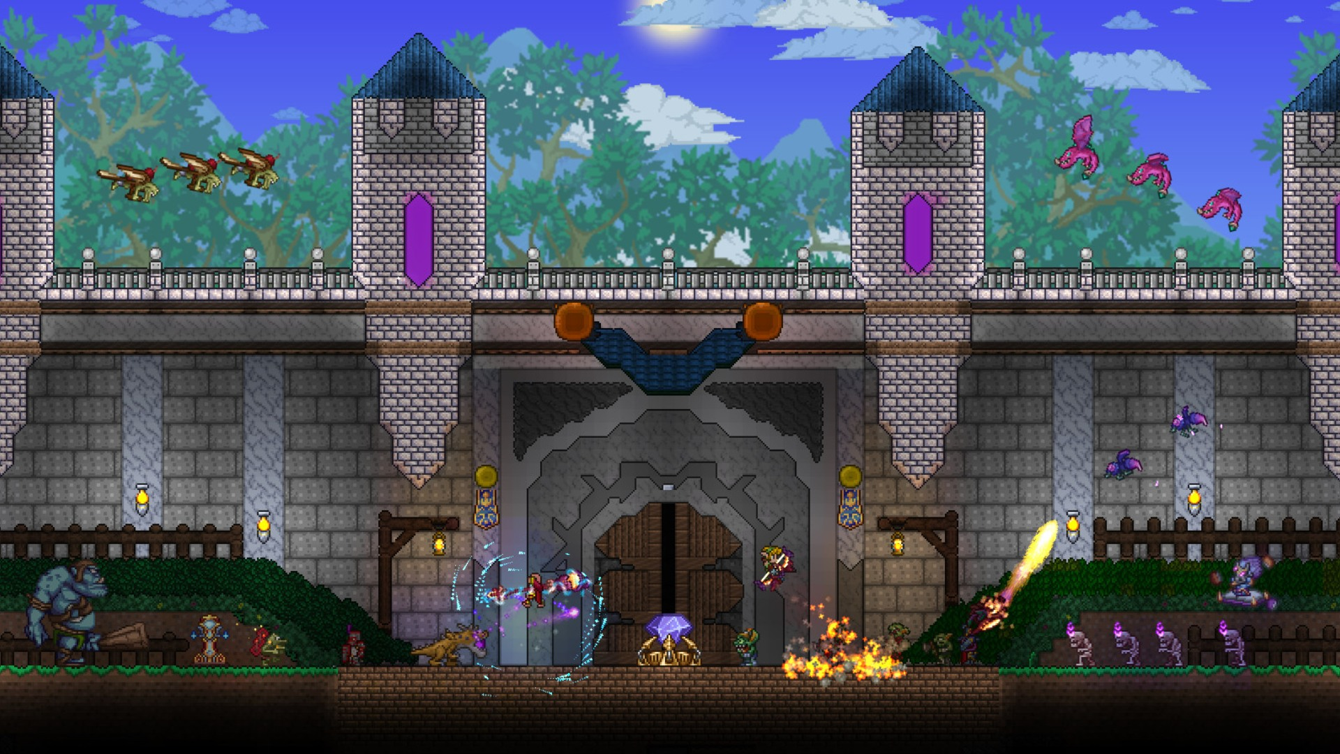 Terraria house – designs and requirements