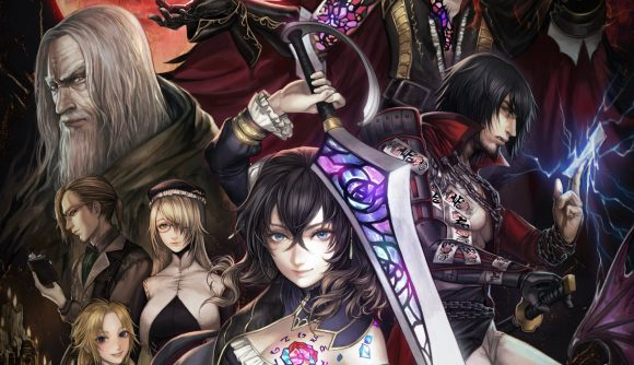 Bloodstained cast artwork