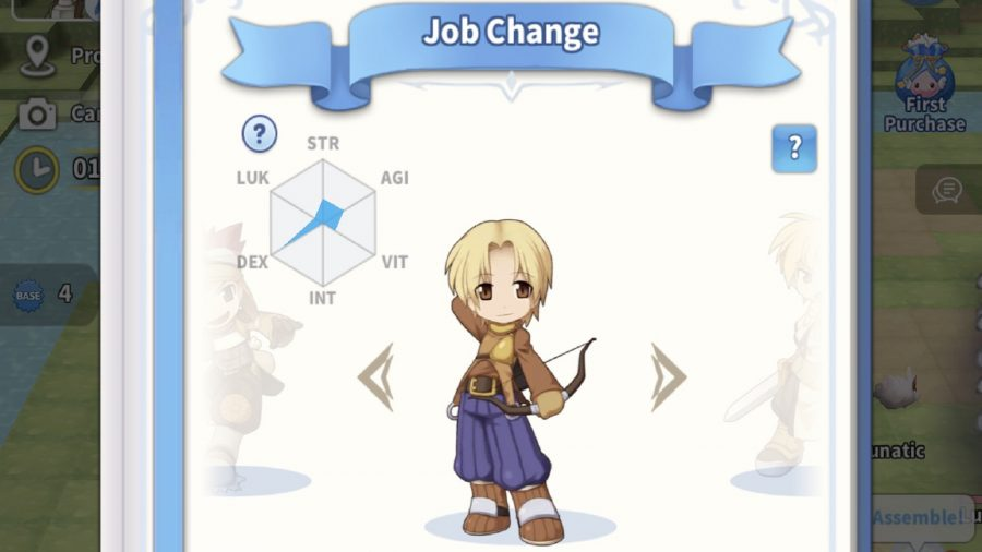 An archer and his stats
