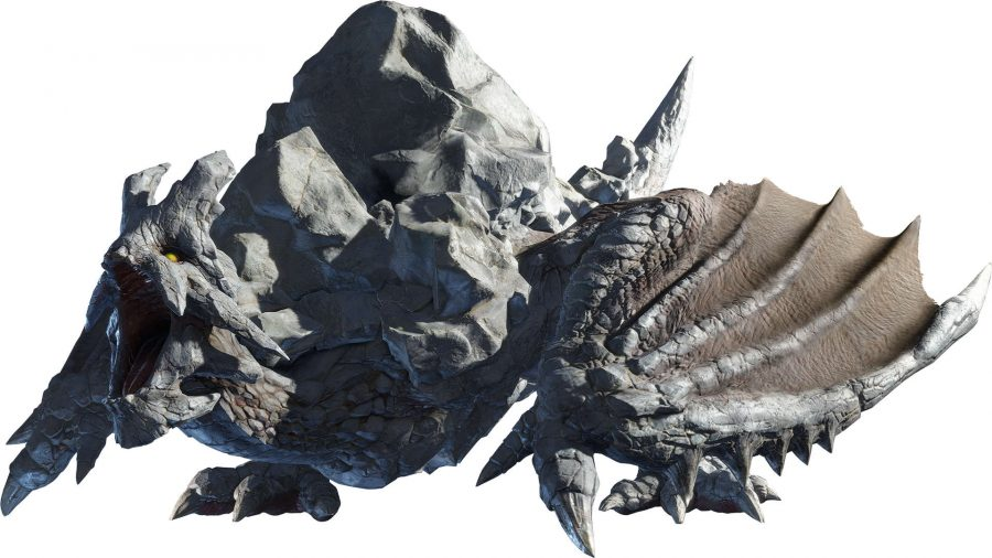 A monster that looks like a giant rock