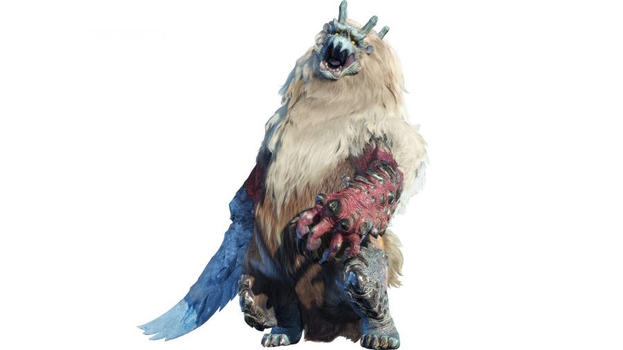 A yeti-like monster
