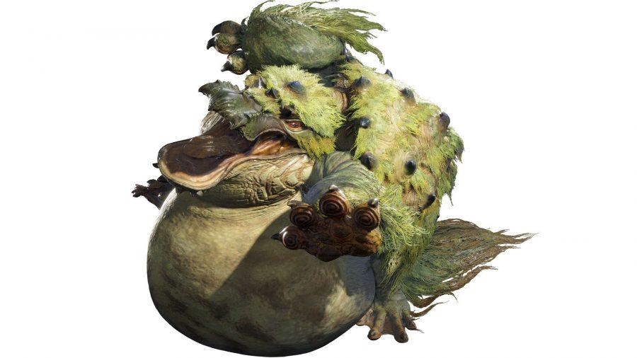 A platypus-like monster