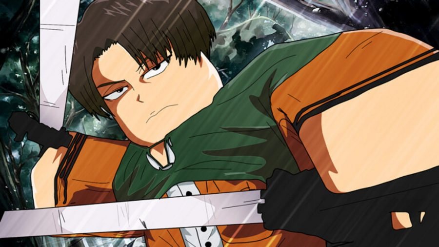 A hero wielding two blades