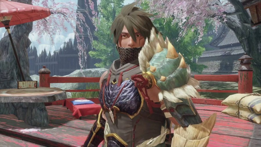 Master Utsushi in Monster Hunter Rise is a ninja who teaches you Switch Skills.