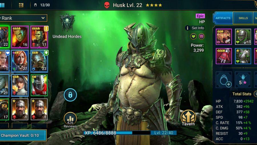 Husk in Raid: Shadow Legends