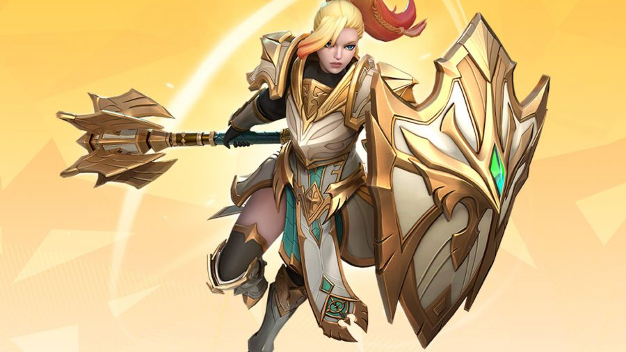 Jeanne from Summoners War: Lost Centuria