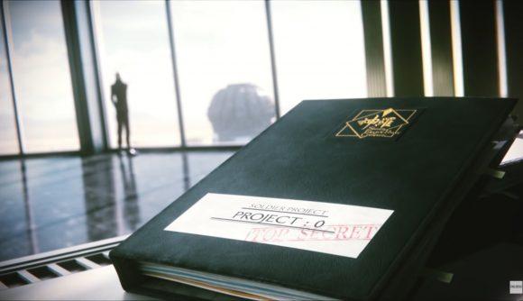 A book sitting in Shinra HQ