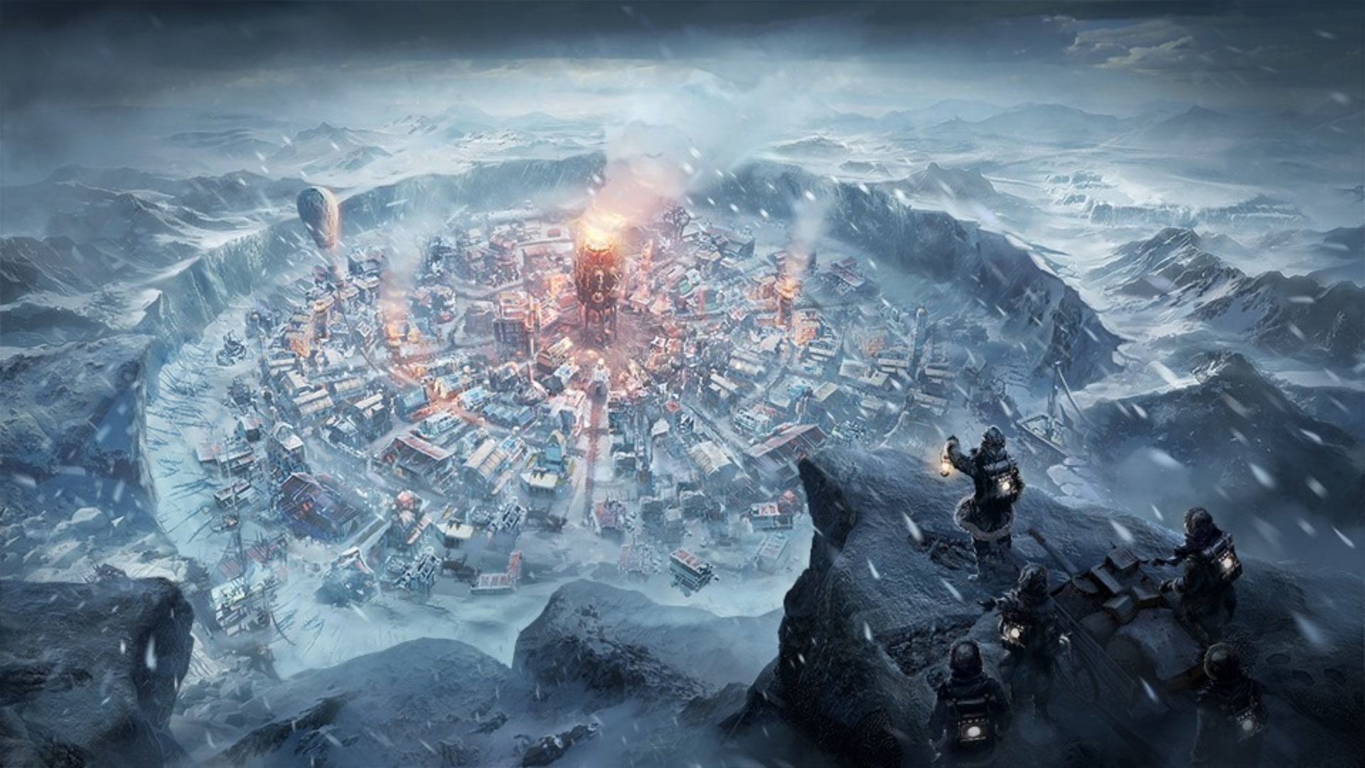Frostpunk Mobile is an enhanced version of the hit strategy game