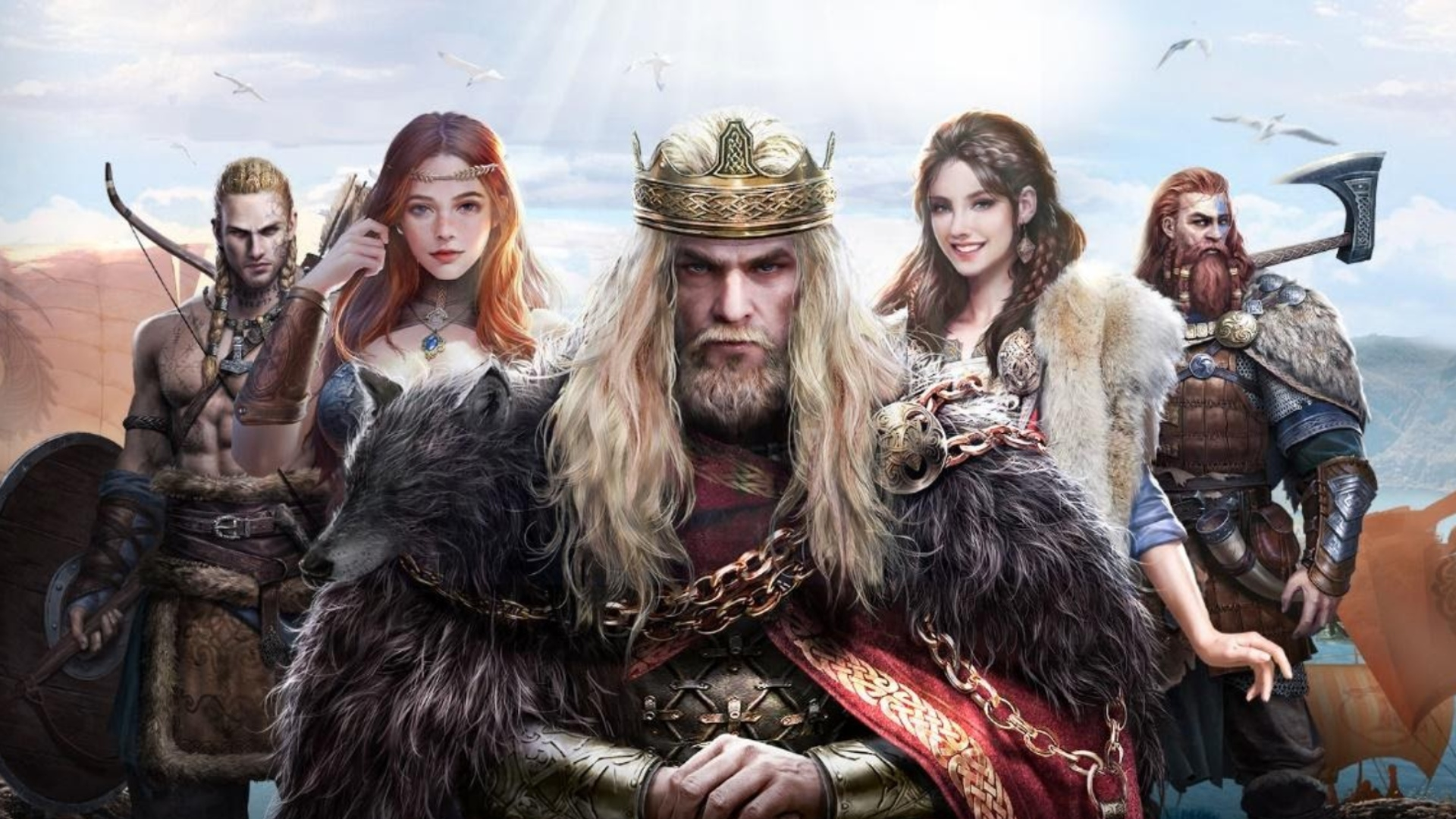 Simure Vikings is an RPG where you play as a power-hungry jarl