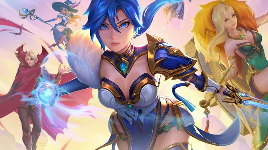 Characters from Summoners War: Lost Centuria show off their skills