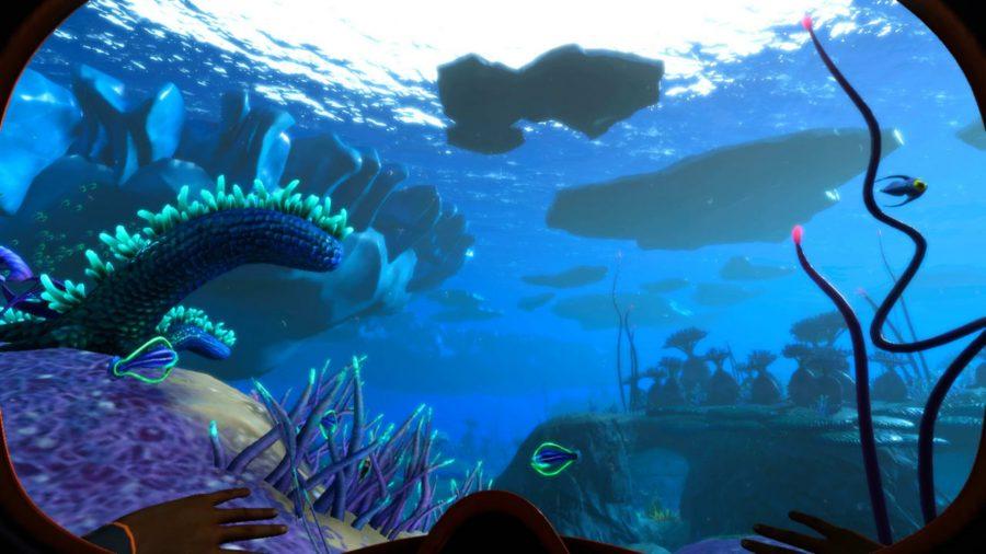 Exploración submarina en Subnautica