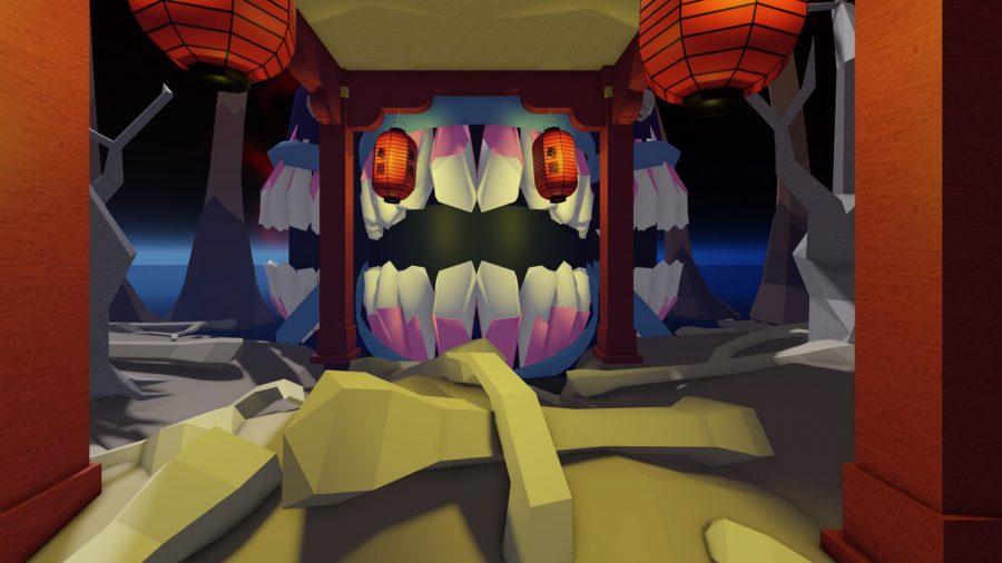 A gateway with teeth