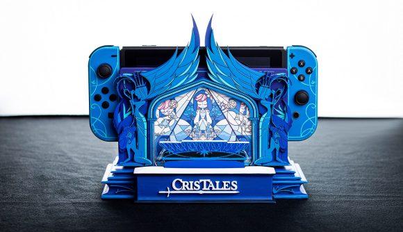 A custom Cris Tales Nintendo Switch console