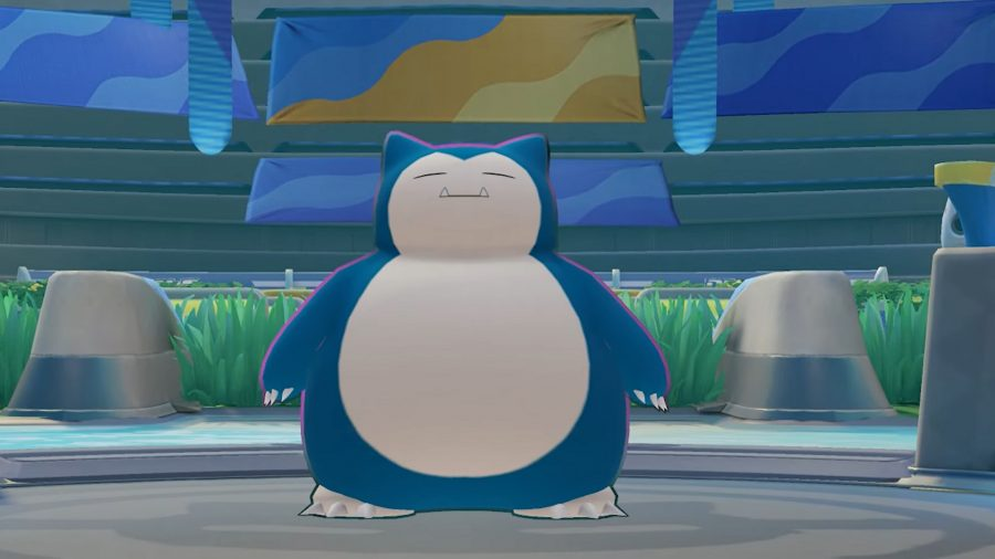 Snorlax in the arena