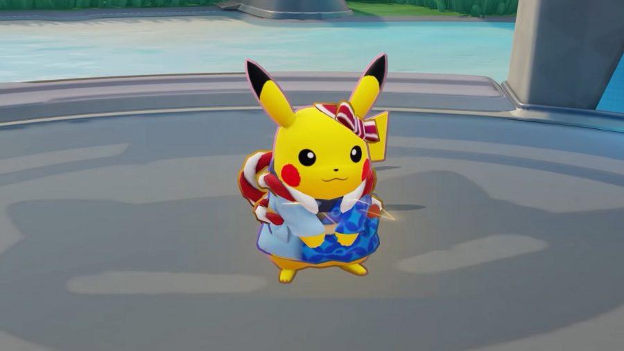 Pokémon Unite's Festival Style Pikachu