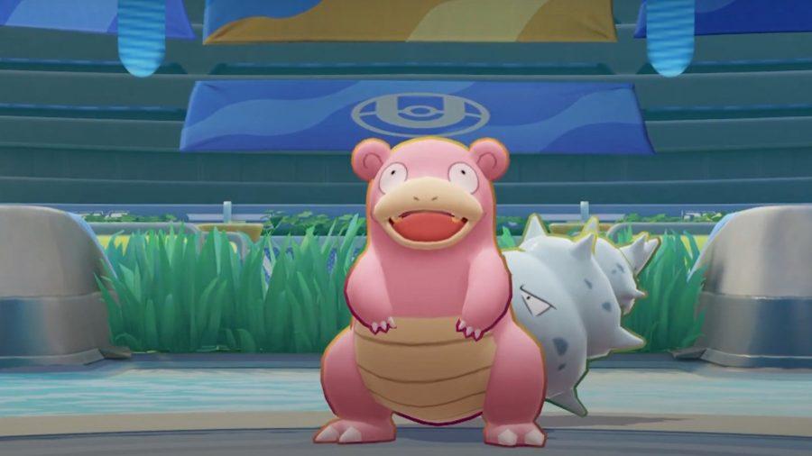 Pokemon Unite's Slwobro