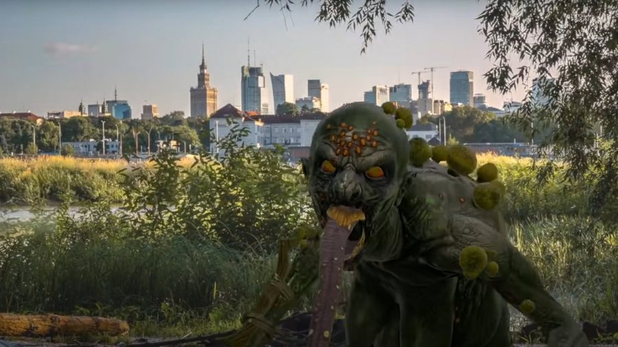 The Witcher: Monster Slayer creature in the real world