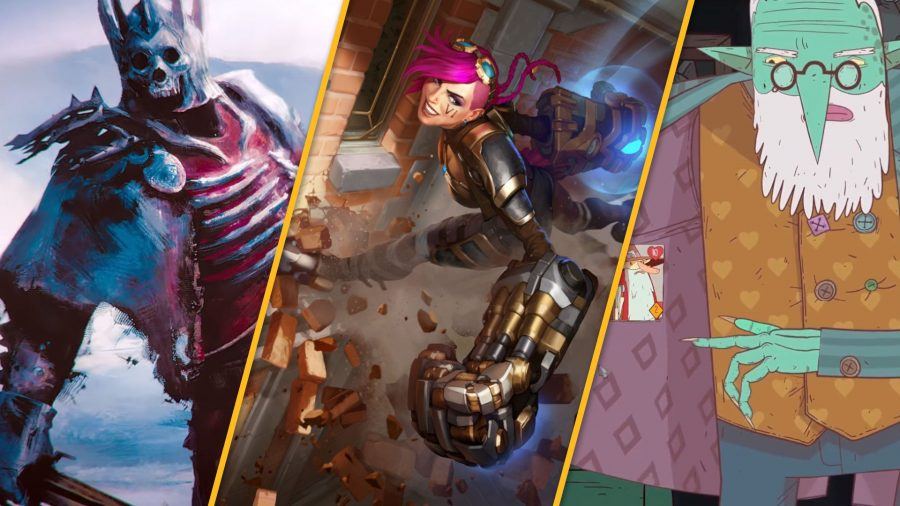 The best mobile card games, Legends of Runeterra, and MeteorfallGwent,