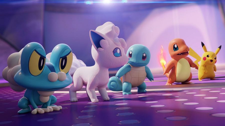 Several Pokémon Unite characters