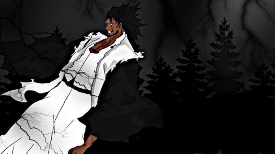 A Bleach Era character against a black background