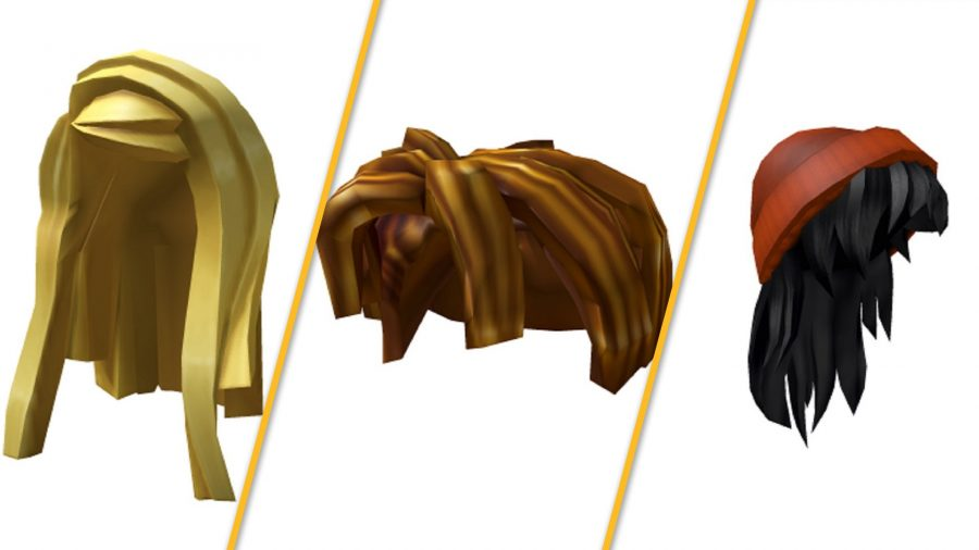 The free Roblox hair items