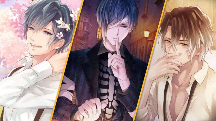 Ikemen Vampire characters; Arthur, Jean, and Leonardo