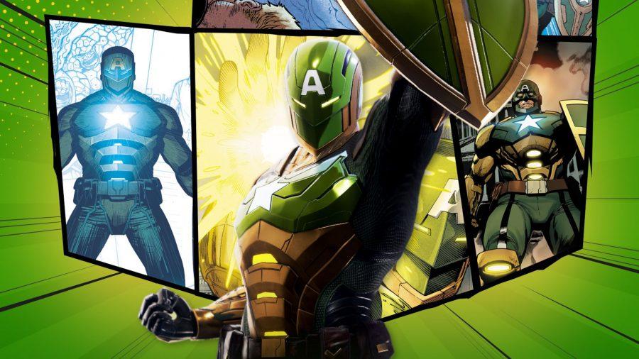 Marvel Future Revolution Captain America build: Captain America's Secret Empire costume