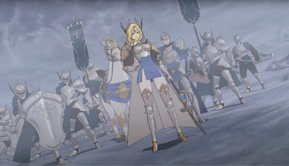 The Seven Deadly Sins Grand Cross Ragnarok; An army of knights
