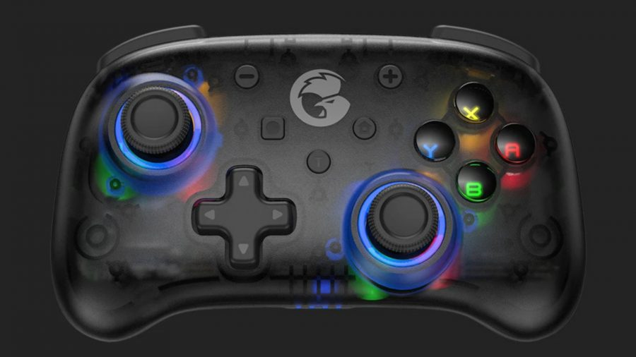Front view of the GameSir T4 controller