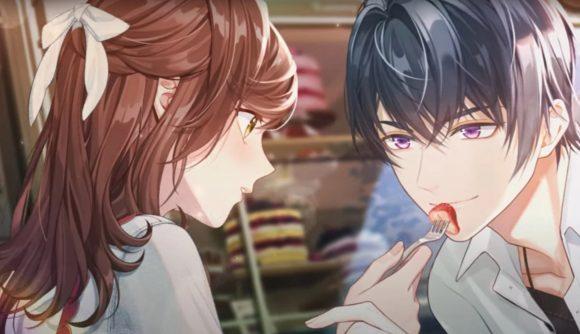 The attorney feeding Marius a strawberry